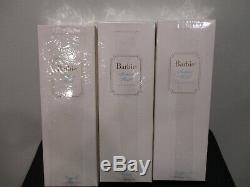2000 # 1,2,3 Lingerie Silkstone Barbie Doll Nrfb Limited Edition Mint. 3 Poupées
