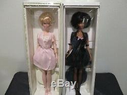 2000 # 4 & 5 Lingerie Silkstone Barbie Doll Nrfb Limited Edition Mint. 2 Poupées