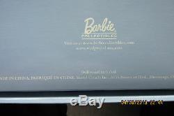 2000 Barbie Wedgwood England Robe De Poupée Bleue Édition Limitée Nrfb