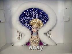 2001 Edition Limitée Bob Mackie Barbie Déesse Fantastique De L'arctique Nouveau Dans La Boîte
