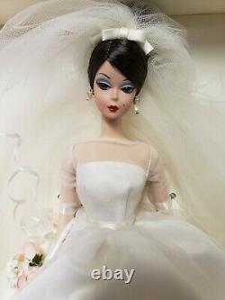 2001 Édition Limitée Maria Therese Mariage Mariée Silkstone Barbie Doll - Bouquet