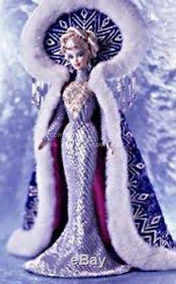 2001 Signé Bob Mackie Déesse Fantastique De L'arctique Barbie Edition Limitée