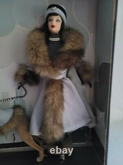 2001 Society Hound Collection Greyhound Barbie Doll Nrfb Limited Edition 29057