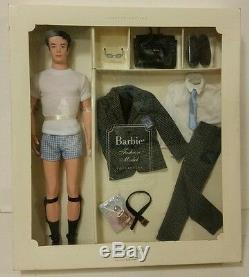 2002 Mattel Fashion Insider Ken Doll Modèle Coffret Cadeau Silkstone Barbie Édition Limitée