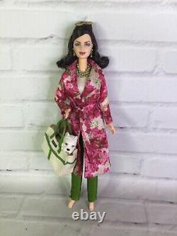 2003 Mattel Barbie Kate Spade Doll Edition Limitée Label D'or Avec Outfit & More