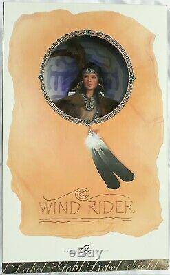 2006 Wind Rider Native American Poupée Barbie Or Étiquette Édition Limitée Mimb