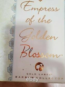 2008 Empress Of The Gold Label Fleur D'or Barbie Limited Edition