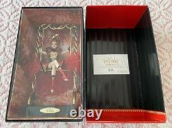 2010 Bob Mackie Circus Ringmaster Barbie Gold Label Limited Edition Avec Coa