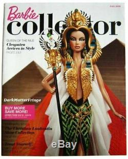 2010 Cleopatra Barbie Limited Edition R4550 New Nrfb Free USA Livraison