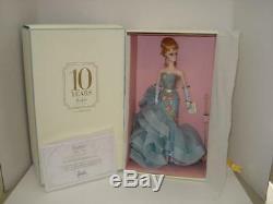 2010 Silkstone Limited Edition Barbie Doll Nrfb Hommage
