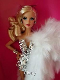 2012 Poupée Barbie Figure Blond Diamant W3499 Étiquette Gold Limited De Japanmint8h