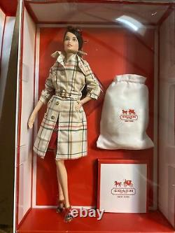 2013 Designer Coach Barbie Doll Edition Limitée