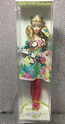 2015 Gaw Convention Groovy À Londres Poupée Barbie Silkstone Limitée À 274 Nrfb