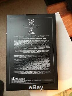 2016 Bay Barbie Argent Hudsons Étiquette Limited Edition Nrfb
