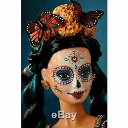 2019 Dia De Los Muertos Day Of The Dead Limited Edition Barbie Doll Nib