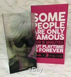 Andy Warhol Rare Exclusif Barbie Mattel Vase Limited Edition 2015 Pop Culture