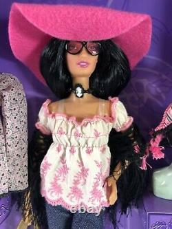 Anna Sui Boho Barbie Doll Limited Collection Fashion Runway Gold Label 2005 Nrfb