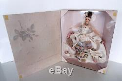 Antique Rose Barbie 1996 Fao Schwarz Limited Edition Collection Floral 15814