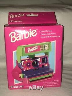 Appareil Photo Instantané Barbie Polaroid 600 Limited Edition 1999, Nouvelle Boîte Nrfb Mattel