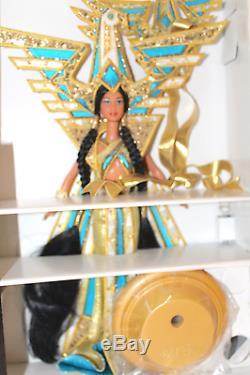 Barbie 2000 Déesse Fantastique Des Amériques Bob Mackie Édition Limitée Doll Plus