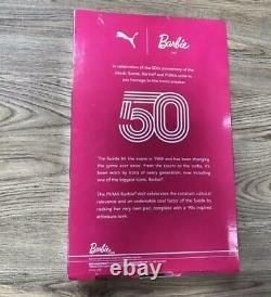 Barbie Aa Puma 50e Anniversaire Sport A Augmenté 2018 Mattel Limited Quantité Nouvelle