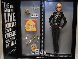 Barbie Andy Warhol Platinum Label Poupée Pop Art Limited Edition 999 Nouveau Nrfb 2015