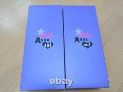 Barbie × Anna Sui Doll 2 Ensemble 60th Anniversary Limited Rare New