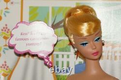 Barbie Apprend Cook Vintage Repro Mattel Poupée Édition Limitée Mod Rare Nue