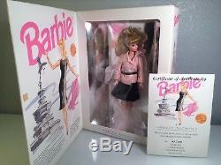 Barbie At Harvey Nichols Poupée Barbie Edition Limitée N ° 129 Sur 250 Avec Coa & Nrfb
