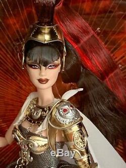 Barbie Athena D'or 2009 Étiquette Nrfb Mint 5.300 Limited Edition Rare Dans Le Monde Entier