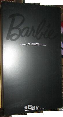 Barbie Bob Mackie Bresilien Banane Bonanza Gold Label Limited Edition Collection