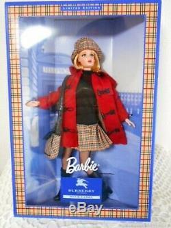 Barbie Burberry Édition Limitée Blue Label Non Ouvert