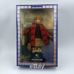 Barbie Burberry Édition Limitée Blue Label Unopened Japon