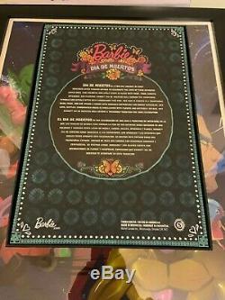 Barbie Collector Dia De Los Muertos (jour Des Morts) Doll Limitée En Main