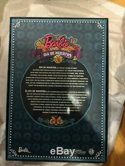 Barbie Collector Dia De Los Muertos (jour Des Morts) Limited Nouveau Dans La Main