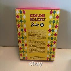 Barbie Couleur Magic Reproduction Barbie Doll And Fashion 2003 Edition Limitée