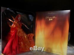 Barbie Danse Feu Essence De La Nature Collection Limited Edition 1999 Nrfb