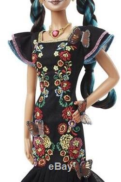 Barbie Dia De Los Muertos Day Of The Dead Doll 2019 Limited Release Épuisé
