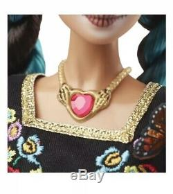 Barbie Dia De Los Muertos Doll Day Of The Dead Limited Edition Les Navires De La Main Maintenant