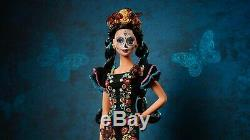 Barbie Dia De Los Muertos Jour Des Morts Doll 2019 Limited Edition Halloween