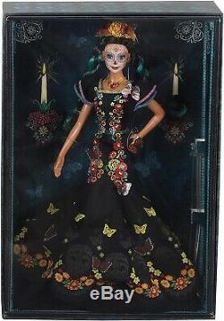 Barbie Dia De Los Muertos Jour Des Morts Doll 2019 Limited Edition! Nouveau