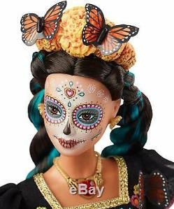 Barbie Dia De Los Muertos (jour Des Morts) Doll Limited Edition Dans La Main
