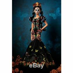 Barbie Dia De Muertos Doll (label Gold) Limited Edition Collectables -preorder