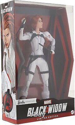 Barbie Doll Black Widow Limited Edition Signature Nouveauté 2020
