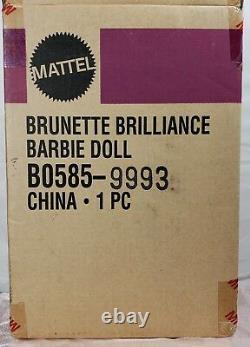 Barbie Doll Brunette Brilliance Bob Mackie Red Carpet Collection Édition Limitée
