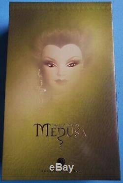 Barbie Doll, Medusa 2008, Gold Label -nrfb New Limited Edition! Livraison Gratuite
