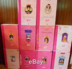 Barbie Eras Grande Jeu Complet De 10 1993 1997 Limited Edition