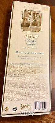 Barbie Fashion Model Lingerie Silkestone Limited Edition 2000 Mattel #26930