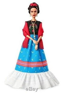 Barbie Femmes Inspirantes Frida Kahlo Edition Limitée Doll In Stock