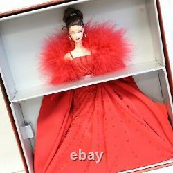 Barbie Ferrari Barbie Doll Limited Edition Red Gown Gold Label Nrfb Collectionible